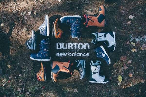 New Balance x Burton Snowboards