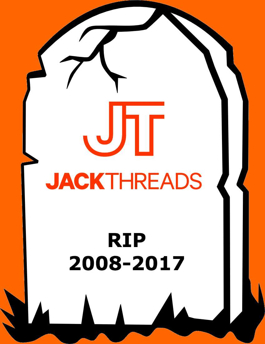 JackThreads Closing Down